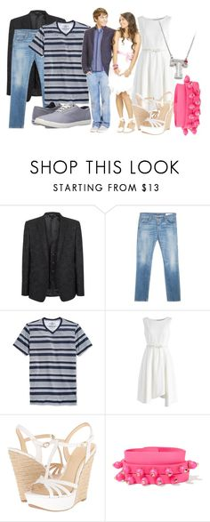 """Troy Bolton and Gabriella Montez"" by princessmikyrah ❤ liked on Polyvore featuring Dolce&Gabbana, rag & bone, American Rag Cie, Chicwish, Jessica Simpson, Valentino and Keds"