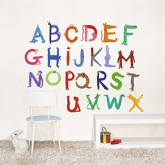 Abecedary Wall Decal at AllPosters.com