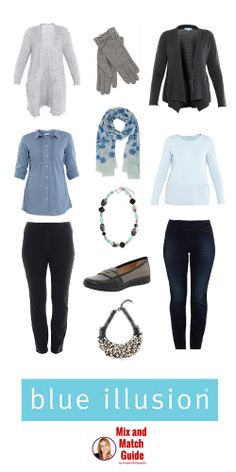 Blue Illusion is a french inspired brand that is known for their comfortable clothes with a difference. The left cardigan is a more relaxed look Mix N Match, Comfortable Outfits, Illusions, Stylists, Angel, Blue, Clothes, Style, Fashion