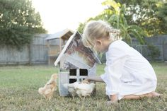 Easter time and baby chickens :) Photo by Honey Atkinson, Styling by Karen Locke for Confetti Mag www.confettimag.com.au
