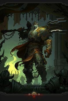 """""""Eu sou Leoric, senhor das Terras de Glória. Vivi e morri para defender meu reino, para glorificar meu exército de súditos e soldados. Agora não há glória maior do que servir ao Senhor do Terror. Eu lhe mostrarei."""""""