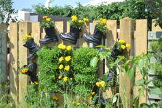 Gardening in Boots