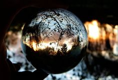 crystal ball sunset 2 by April-Mo on DeviantArt