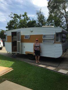 """17' Viscount Supreme """"Vincent""""   Classic Caravans Viscount Caravan, Caravan Renovation, Camper Trailers, Caravans, Recreational Vehicles, Supreme, Classic, Camping, Projects"""