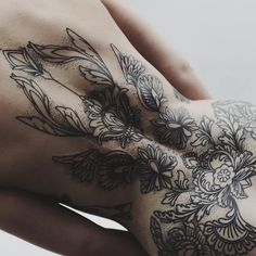 Tattoo art (Anna enola's tattoo) - Tattoos & Body Art Hot Tattoos, Pretty Tattoos, Beautiful Tattoos, Body Art Tattoos, Tribal Tattoos, Girl Tattoos, Tattos, Full Body Tattoo, Back Tattoo Women