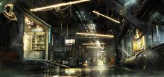 The art of Deus Ex Mankind Divided