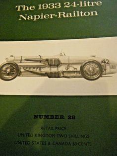 1933 NAPIER RAILTON BROOKLANDS MONTLHERY BONNEVILLE SALT FLATS JOHN COBB 500 Jochen Rindt, Bonneville, Salt, Racing, Books, Running, Libros, Auto Racing, Book