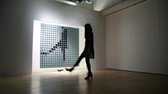 5 | This Giant Interactive Mirror Turns Viewers Into Pixels | Co.Design | business + design