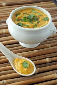 Sweet Potato Curry Soup.. A winter warmer indeed