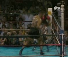 Mike Tyson KO's Marvis Frazier less than 30 seconds into the 1st-Round with a barrage of devastating punches. July 26th, 1986  a world of pain…