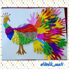 Preschool,Toddler and kindergarten hand crafts for kids, toddler art projec Bird Crafts Preschool, Hand Crafts For Kids, Animal Crafts For Kids, Spring Crafts For Kids, Kindergarten Crafts, Kindergarten Worksheets, Birds For Kids, Art For Kids, Fantasy Eyes