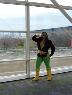 Xmen's Rogue Cosplay by Riddler Batman Cosplay #C2E2