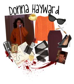 Twin Peaks: Donna Hayward by dandelionapril on Polyvore featuring мода, Joseph, Oasis, Kurt Geiger, Kate Rowland, Sterling Essentials, The Row, MAC Cosmetics and Hurley