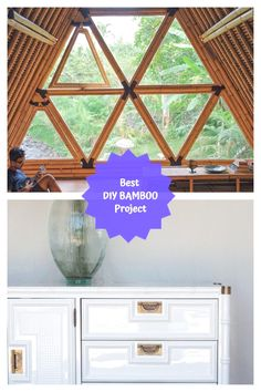 Wonderfull DIY Bamboo Projects #bamboodecoration Bamboo Crafts, Bamboo Ideas, Diy And Crafts, Easy Diy, Diy Projects, Craft Ideas, Elegant, Unique, Amazing