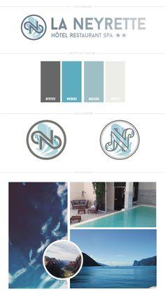 Création d'un logo pour un hôtel spa et restaurant Skincare Branding, Spa Design, Restaurant, Beauty Spa, Skin Care, Logo, Logos, Diner Restaurant, Skincare Routine