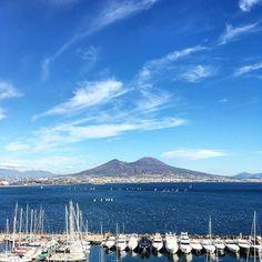 Naples  #napoli #naples #ig_napoli  #igersnapoli #igersitalia #igers #vesuvio #vesuviocost #margellina #sky #skyporn #skyline #sea #seaside #vedinapoliepoimuori #napolilove #lungomaredimargellina #campania #igerscampania #campaniagram
