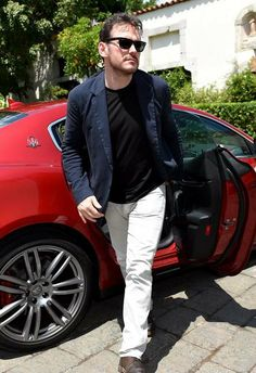 #MattDillon Matt Dillon - In the roaring #Maserati Quattroporte a rain of fascinating stars arrives at the Taormina Film Festival