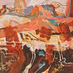 © Luke Sciberras ~ Junction Mile Junk Study ~ 2014 Oil on board at Olsen Irwin Gallery Sydney Australia Contemporary Landscape, Abstract Landscape, Landscape Paintings, Abstract Art, Urban Landscape, Abstract Paintings, Abstract Expressionism, Art Paintings, Australian Painters