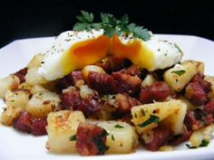 Corned beef hash for a crowd