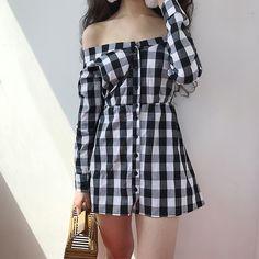 Ulzzang Fashion, Kpop Fashion, Cute Fashion, Girl Fashion, Fashion Looks, Style Fashion, Fashion Styles, Fashion Today, Fashion Photo