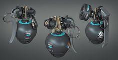 ArtStation - VARF ‒ Grenade customization system, Michał Kubas