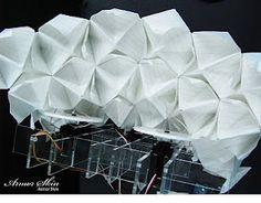 P LAB: ArmorSkin ( Paper_Folding + Arduino + Servo )