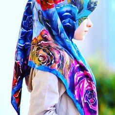 Батик silk painting, batik # @tatatint