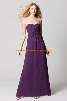 Robe longue 2013 paris raisin simple robe de soirée mousseline