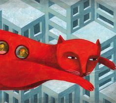 The bus cat by Carlos C Lainez by Thesmokingcat on Etsy, €25.00