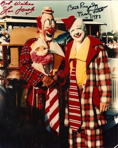 Lou Jacobs Frosty and Knucklehead. Le Clown, Circus Clown, Circus Theme, Circus Art, Famous Clowns, Ringling Brothers Circus, Barnum Bailey Circus, Circus Poster, Send In The Clowns