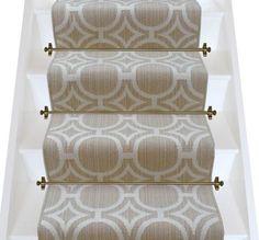 Axminster Carpets Royal Borough Geometric Kensington Egyptian Dark Cotton Stair Runner (per M - Carpets Mag Hallway Carpet Runners, Cheap Carpet Runners, Stair Runners, Carpet Runner On Stairs, Staircase Runner, Dark Carpet, Beige Carpet, Basement Carpet, Ideas
