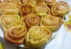 Tarta de rosas saladas - Torta di rose salata - Salt cake roses. italian food, italian recipe, italian cake, comida italiana, cocina italiana, postres italianos
