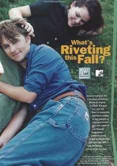 """In 1997, Lee tried to target the youth market by partnering up with MTV and doing a photo shoot with the cast of its new """"10 Spot"""" fall lineup."""