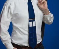 Wear a tie that defies space and time's ever changing fashion rule with one of these Doctor Who themed ties.Ideal for adding flair to any outfit, you can choose from one of two vibrant designs - a TARDIS print or the retro pattern sported by the Fourth Doctor.