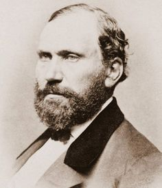 Allan Pinkerton, the Glaswegian who founded the Pinkerton detective agency