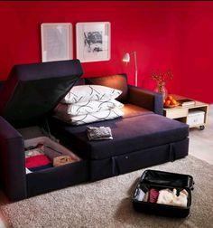 Coach + storage space
