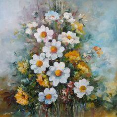 Buchețel din flori adunate de pe un câmp oarecare, din România :) Painting, Art, Pictures, Art Background, Painting Art, Kunst, Paintings, Performing Arts, Painted Canvas