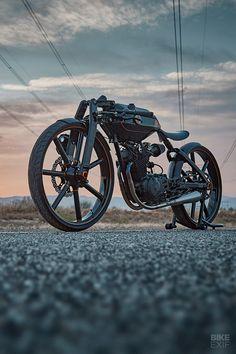 The boardtracker that wowed The Quail judges - Bike chain - Motorrad Moto Bike, Motorcycle Bike, Cool Motorcycles, Vintage Motorcycles, Motorcycle Design, Bike Design, Soichiro Honda, Bmw Autos, Futuristic Motorcycle