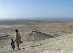 PAKISTAN Mud Volcanoes of Balochistan