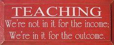 Teaching.
