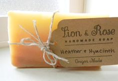 Lion & Rose Handmade Soap Blog: Soap Packaging!