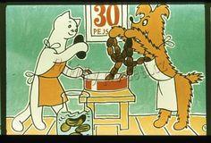 Povídání o pejskovi a kočičce - Jak pekli dort Peanuts Comics, Retro, Retro Illustration