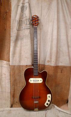 Kay Bass 1950s Sunburst