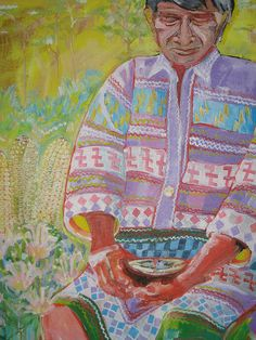 Miccosukee - Seminole. Painting by Wendy Wood | Flickr - Photo Sharing!