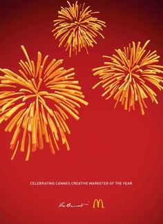 Celebración de McDonald´s al ganar en Cannes