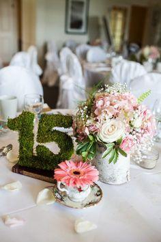 Verde en tu mesa: hojas, ramas y musgo para decorar | El Blog de SecretariaEvento