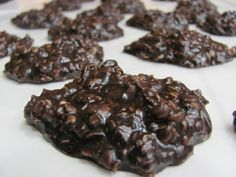 Dark Chocolate Peanut Butter No Bake Cookies: 1 stick (1/2 cup) butter  2 cups sugar  1/2 cup milk  4 Tb cocoa powder (I used Hersheys Special Dark cocoa powder)  1/2 cup peanut butter  2 tsp vanilla  3 cups quick cooking oats