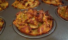 Try these Passover-friendly individual-sized kugel muffins made with onions, celery, red & green bell peppers, spinach, eggs, and ground walnuts or almonds.
