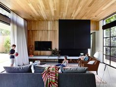 Wolesley residence by Mckimm is designed to cater for a family of five, welcoming an energetic social life with well considered entertaining areas.
