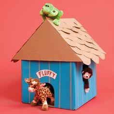 cardboard fun on pinterest dog houses cardboard boxes